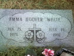 Emma <I>Hoover</I> White
