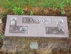 Carrie Margaret <I>Thompson</I> Skarston