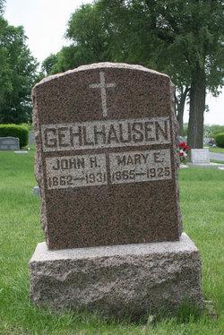 Mary E. <I>Liesenfeldt</I> Gehlhausen