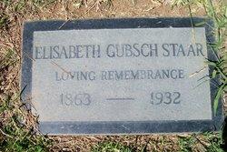 Elisabeth <I>Gubsch</I> Staar