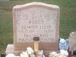 Branson Lloyd Rorex