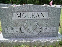 Alma G <I>Baker</I> McLean