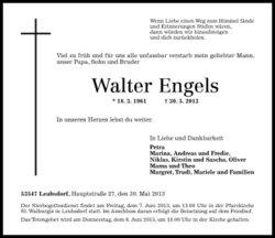 Walter Engels