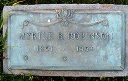 Myrtle Annis <I>Bratton</I> Robinson