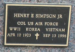 Henry E Simpson, Jr