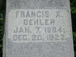 Francis Xavier Dehler