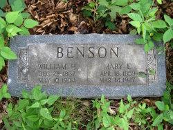 Mary E. <I>Stephens</I> Benson