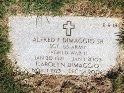 Alfred F. DiMaggio, Sr