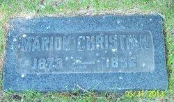 Marion Lynn Christian