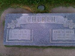 Rosetta Elizabeth <I>Webb</I> Church