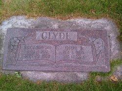 "Mary Ardilcy ""Dilcy"" <I>Sanford</I> Clyde"