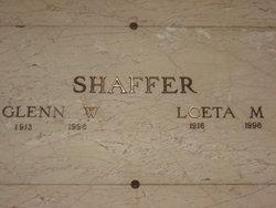 Loeta Marie <I>Caldwell</I> Shaffer