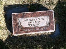 John Hyrum Clyde