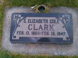Sarah Elizabeth <I>Cole</I> Clark