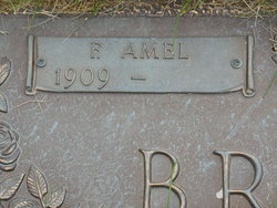 Florence Amel <I>McCabe</I> Brooks