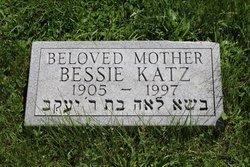 Bessie <I>Rosenberg</I> Katz