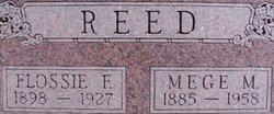 Flossie Freda <I>Sayre</I> Reed