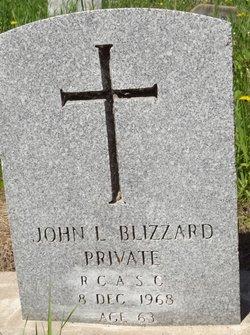 John Layton Blizzard