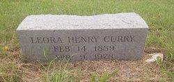 Leora Caroline <I>Henry</I> Curry