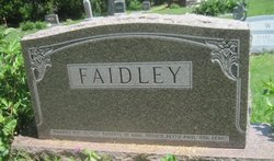 "Alexander M ""Alex"" Faidley"