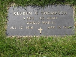 Reuben C Thompson