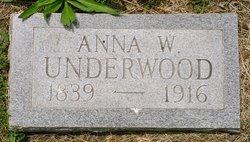 Anna W. Underwood