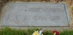 "Frederick Alexander ""Fred"" Hall"