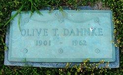 Olive Elizabeth <I>Threlkeld</I> Dahnke
