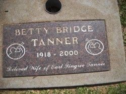 Betty <I>Bridge</I> Tanner