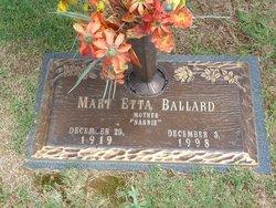 Mary Etta Ballard