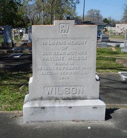 Pauline Wilson