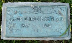 Dr Amos Elmer Robinson