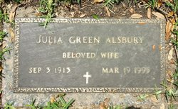 Julia Green Alsbury