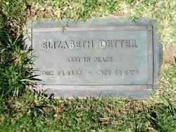 Elizabeth Detterer