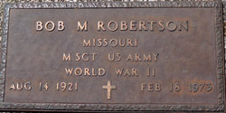 Bob M Robertson