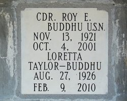 CDR Roy E. Buddhu