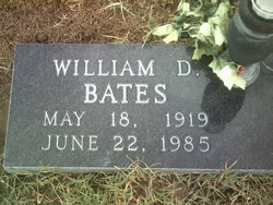 William D Bates
