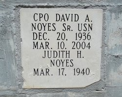 CPO David A. Noyes, Sr