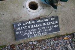 Grant William McKenzie
