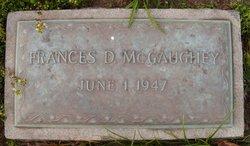 Frances R <I>Douglass</I> McGaughey