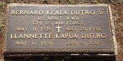 """Llannette Kapuahaunani """"Kapua"""" <I>Alo</I> Dutro"""