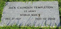 Jack Calhoun Templeton