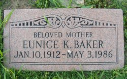 Eunice K Baker