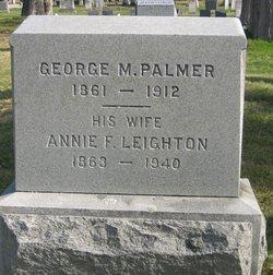 George M Palmer