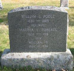 Martha E <I>Roberts</I> Poole