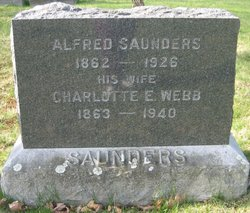 Charlotte E <I>Webb</I> Saunders