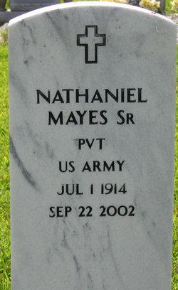 Nathaniel Mayes, Sr