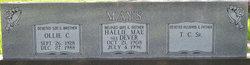 Hallie Mae <I>Dever</I> Mays