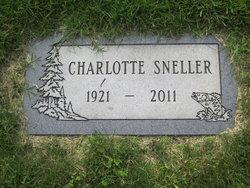 Charlotte <I>Vander Schaaf</I> Sneller