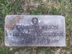 Dr J Cameron Wilson